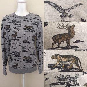 Tiger Elk Eagle Sweater